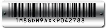 How to read automobile VIN bar codes  Worth Data