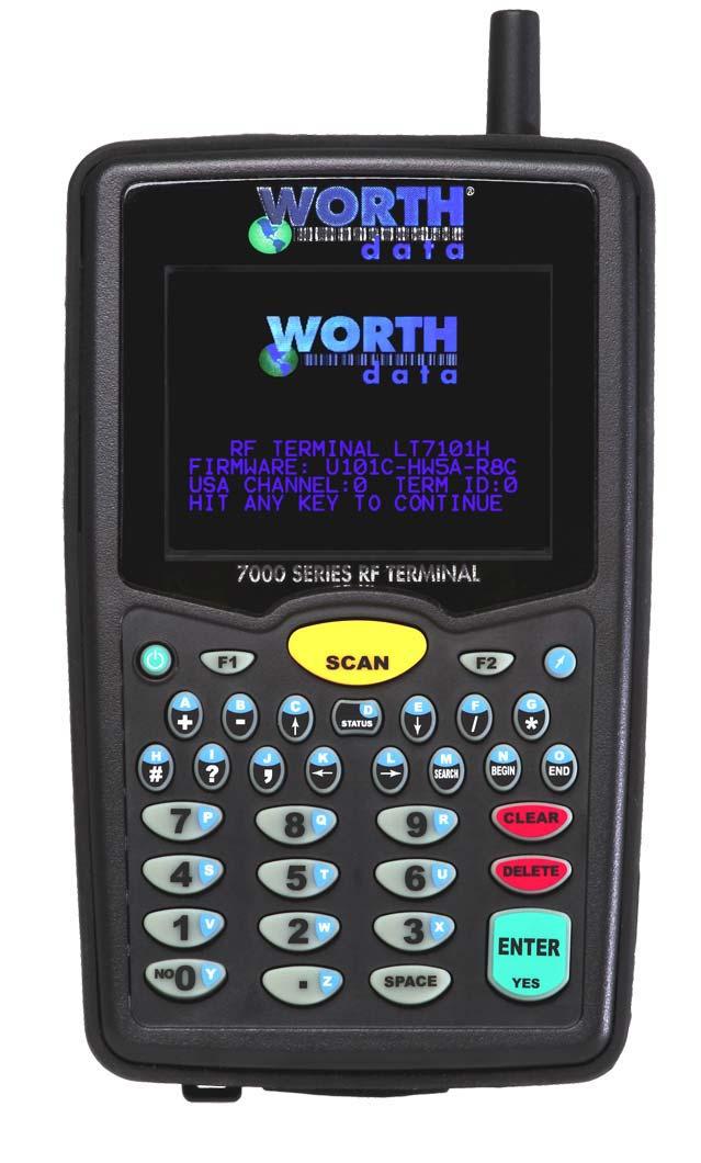 7802 Wi-Fi Mobile RF Terminal - Handheld RF Terminal with built in ...