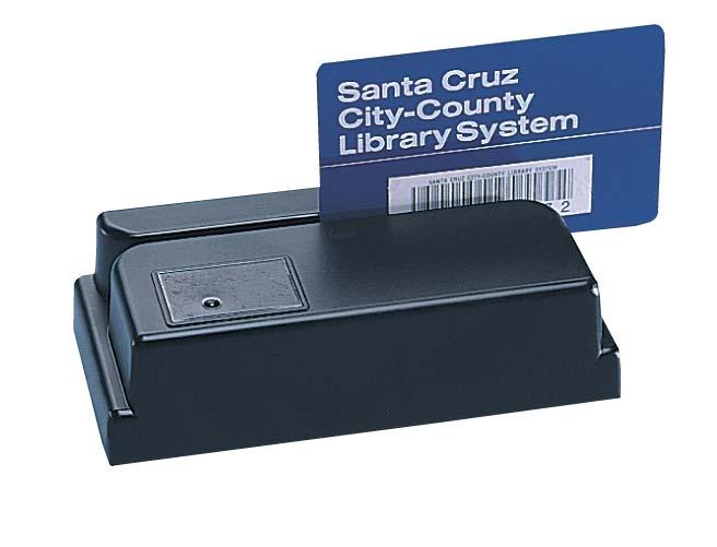 USB Bar Code Slot Badge Card Scanner - Worth Data